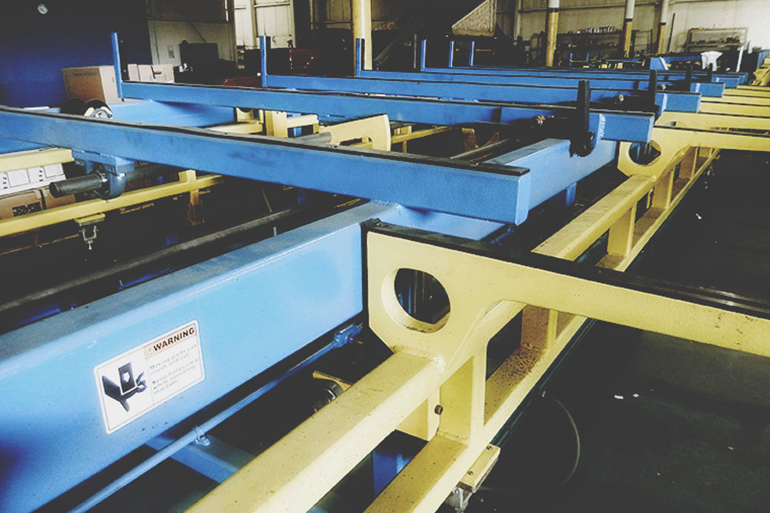 Electro-Tech Centerless Grinding Bar Automatic Feed Table
